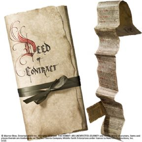 Contract Of Bilbo Baggins